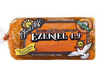 Ezekiel sprouted whole grain bread