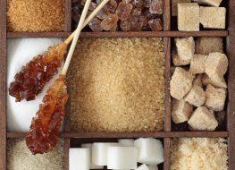 Various kinds of sugar
