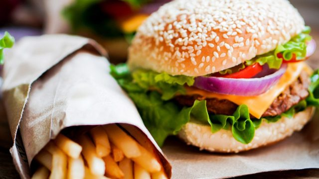 Burger fries fast food under 350 calories.jpg