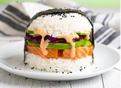 Sushi Burgers Are the Next Internet Food Craze