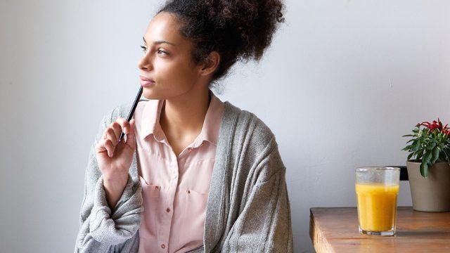 Woman thinking 7 ways think yourself thin.jpg