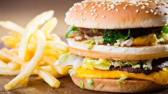 Big Mac and fries