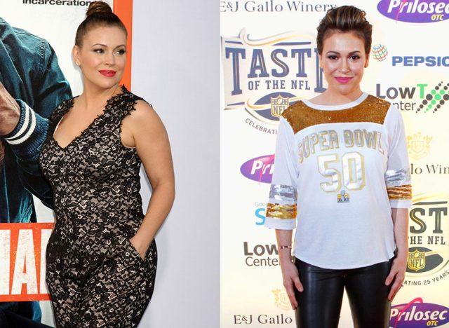 How Alyssa Milano Lost 46 Pounds