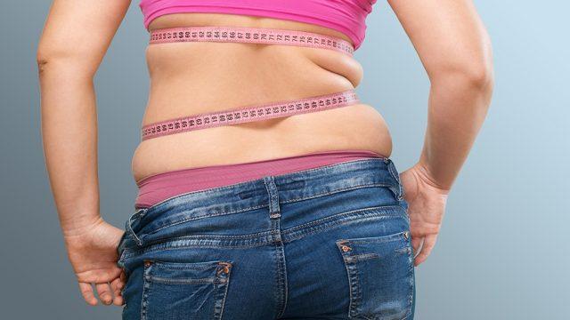 Love handles belly fat