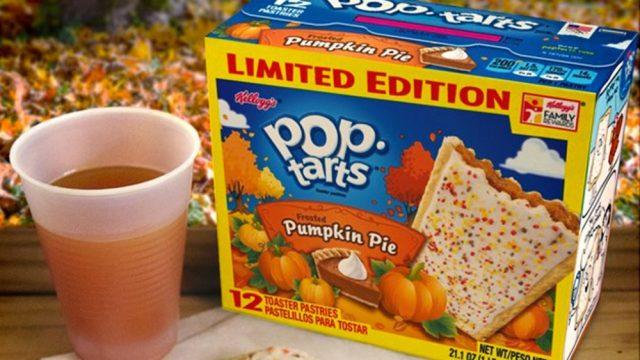 Worst pumpkin snacks pumpkin pop tart.jpg