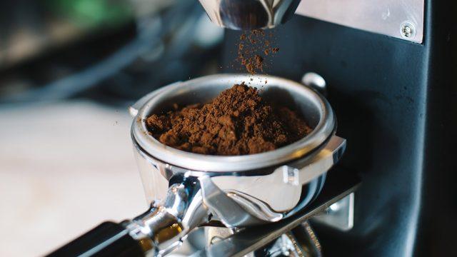 Freshly ground coffee.jpg
