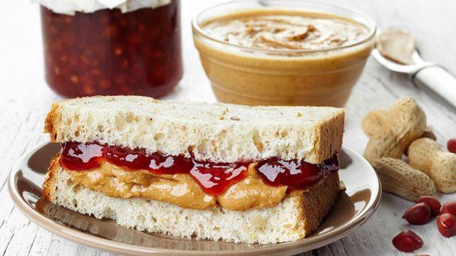 Peanut butter jelly sandwich