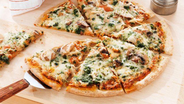Frozen foods kashi thin crust mushroom spinach pizza.jpg