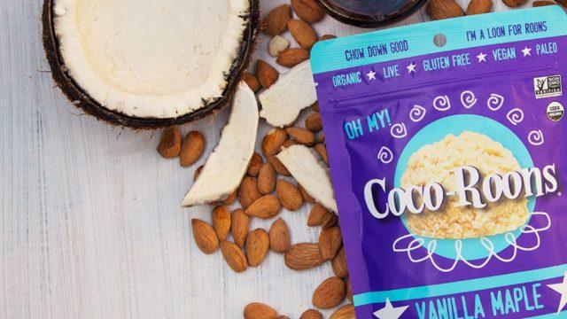 Vanilla maple Coco-Roons