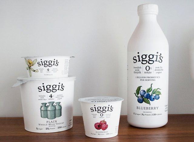 siggi's Dairy Array