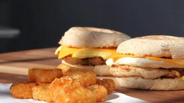 Chik-Fil-A breakfast sandwiches