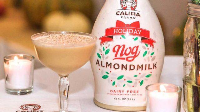 Califia Farms nog almondmilk