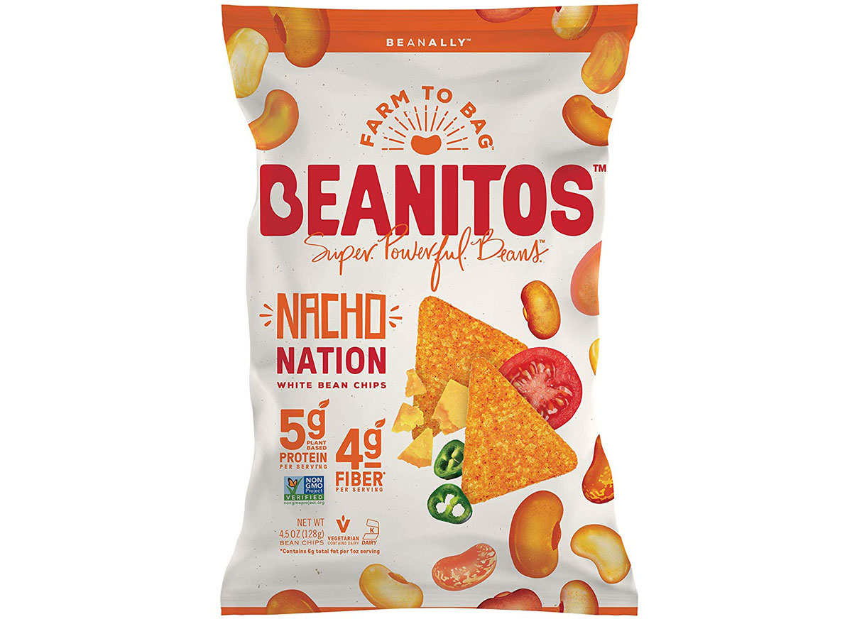 Beanitos nacho nation chips - best healthy low calorie chips