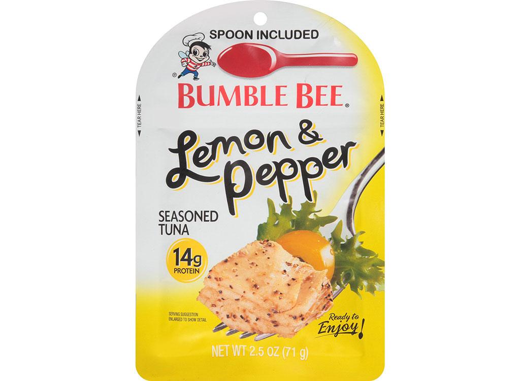 Bumble bee lemon pepper tuna