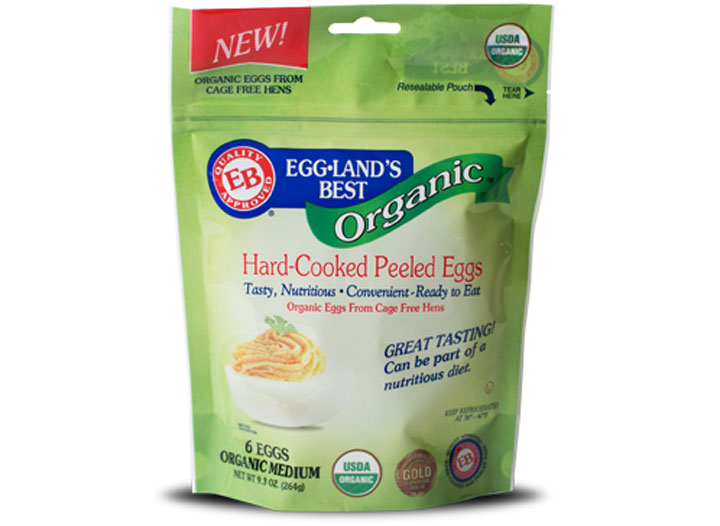 Egglands best organic hard cooked eggs - low carb snacks