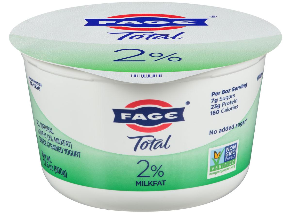 Best worst greek yogurts fage total 2 percent greek yogurt