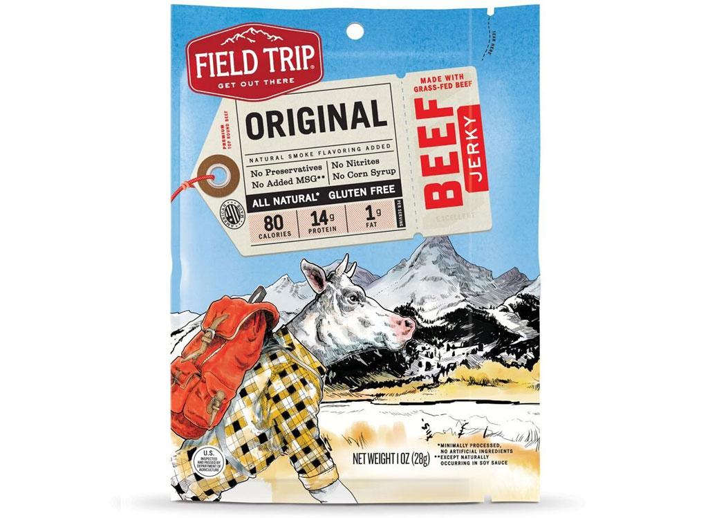 Field trip original beef jerky - low carb snacks