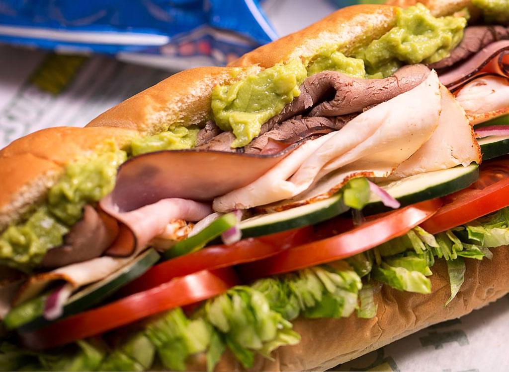 Subway roast beef club