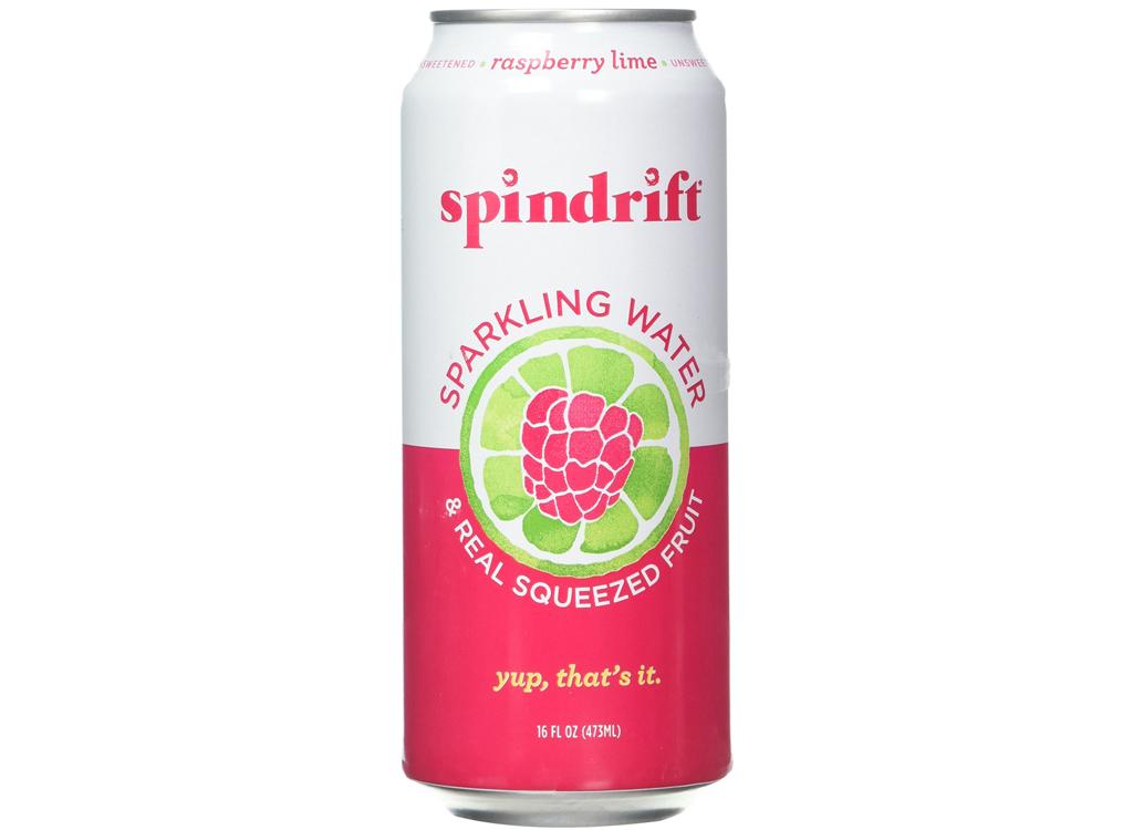 Spindrift raspberry lime