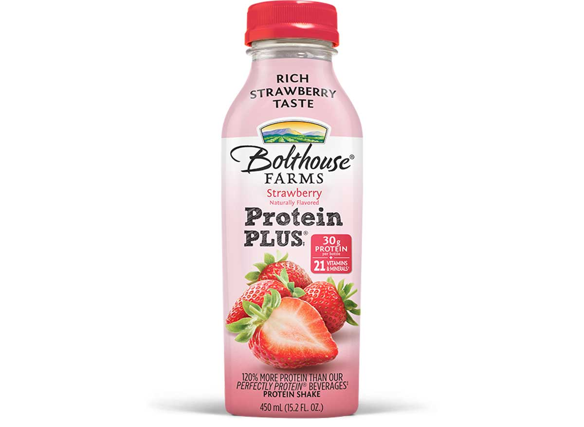 Bolthouse farms strawberry protein plus