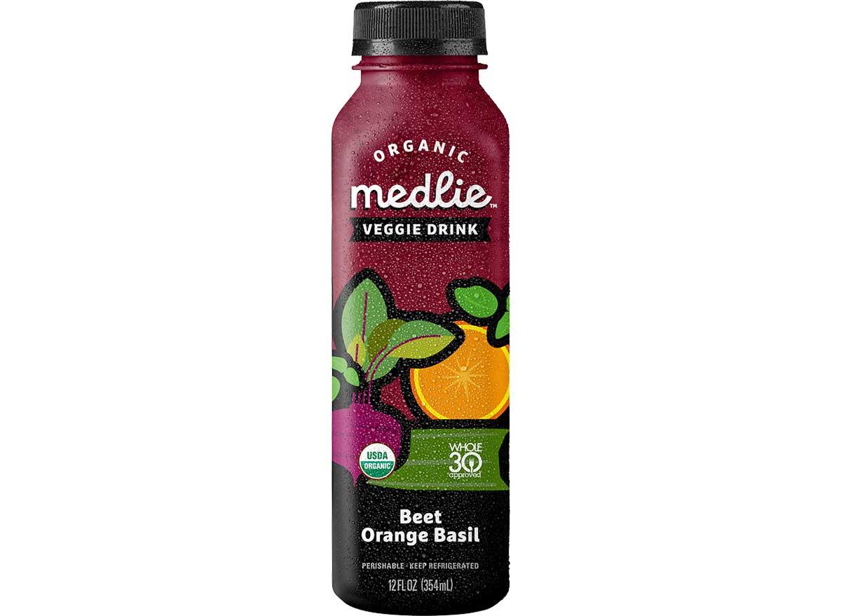 Medlie veggie drink beet orange basil