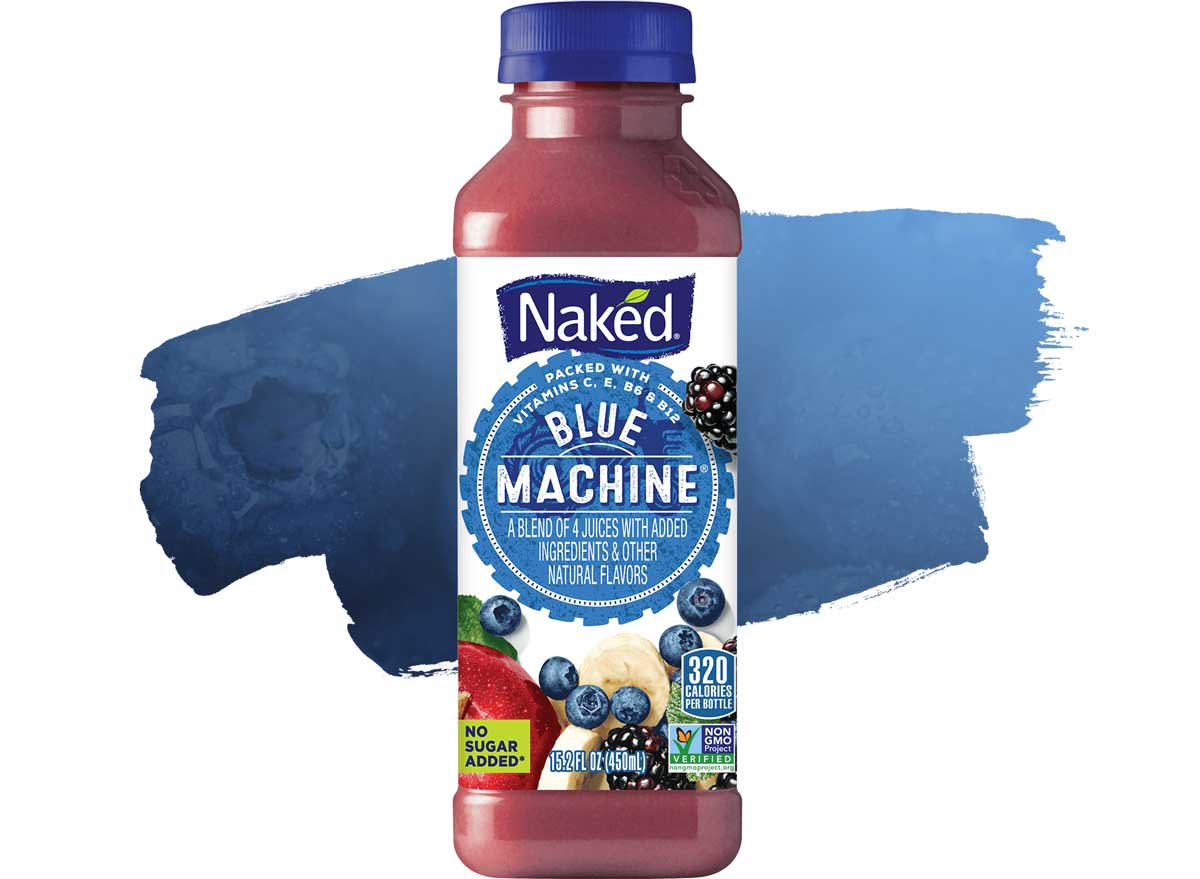 Naked Boosted Smoothie Blue Machine