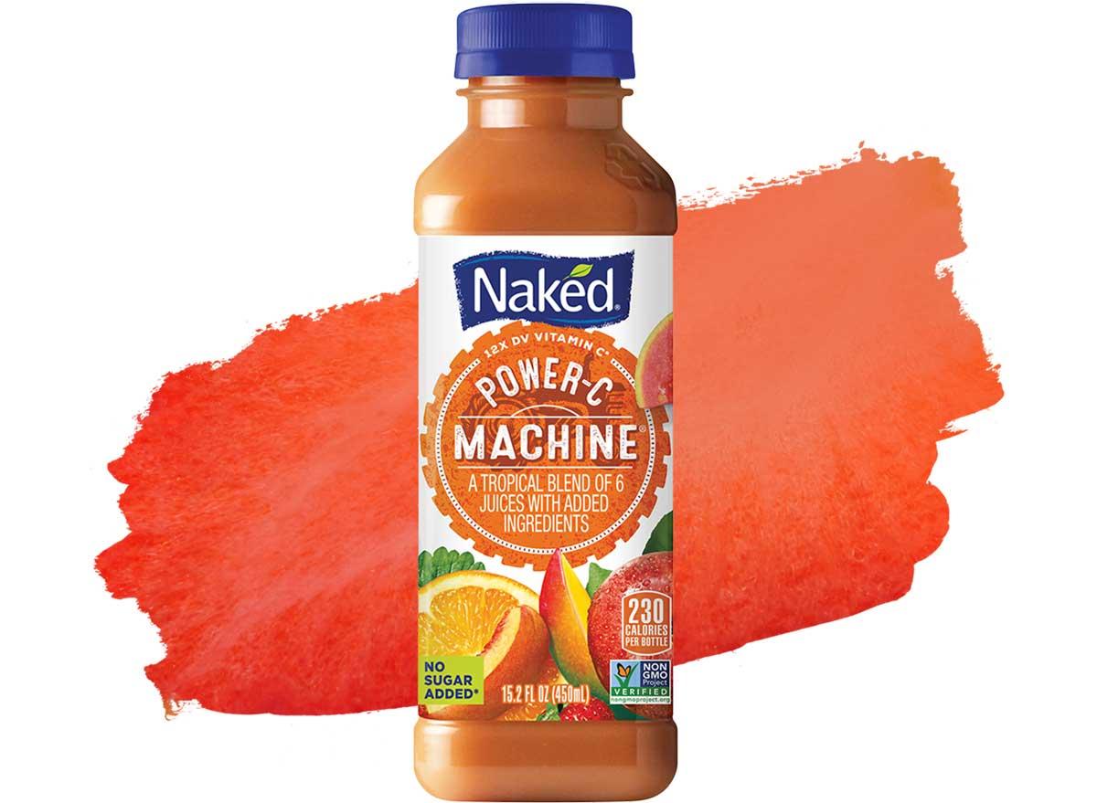 Naked power c machine bottled smoothie