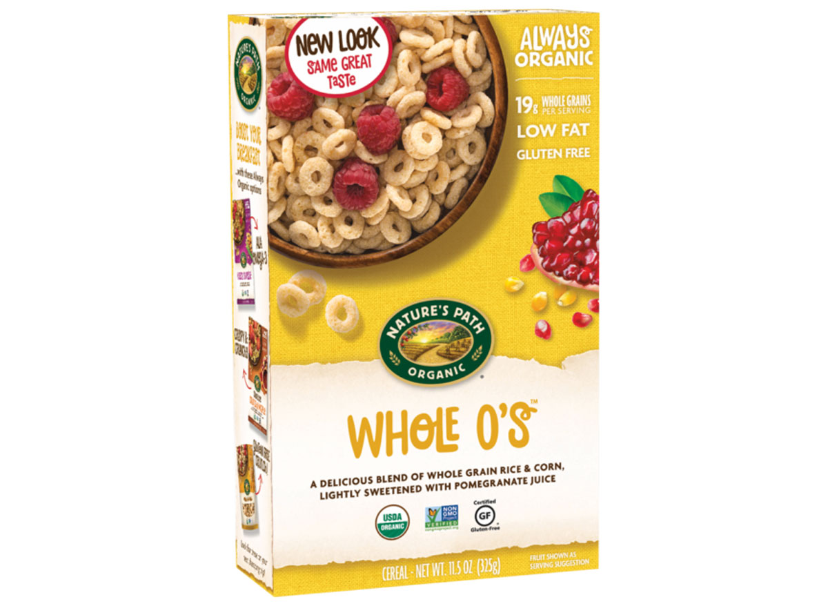 Natures path whole o cereals