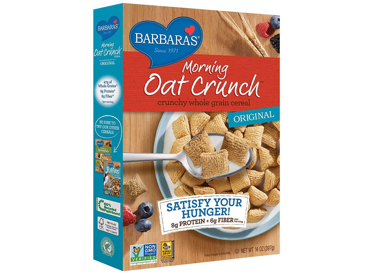 Barbaras morning oat crunch cereal