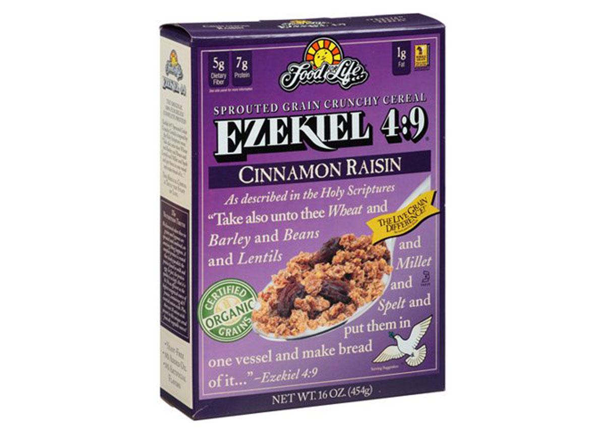 Ezekiel cinnamon raisin bran cereal