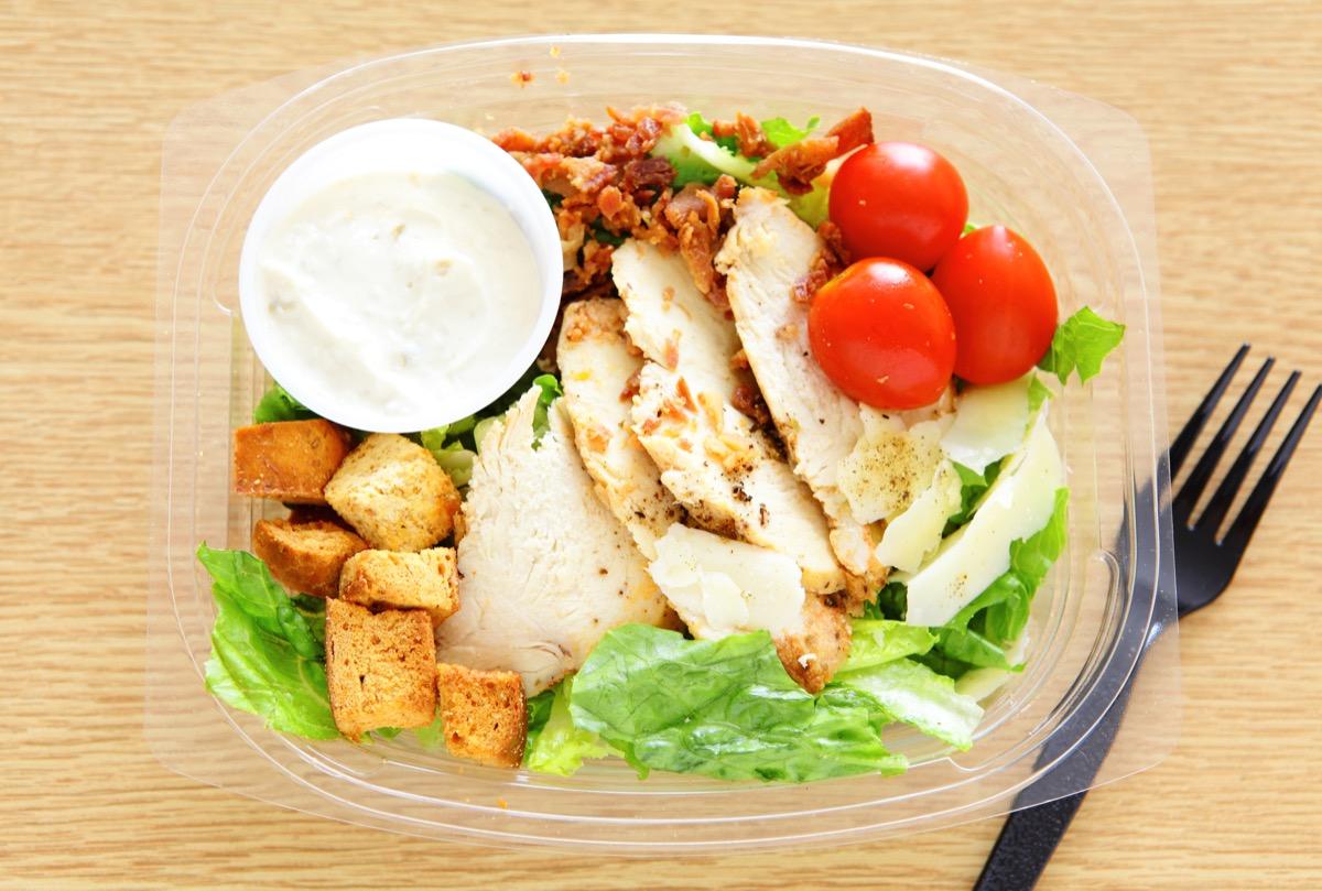 Premade caesar salad