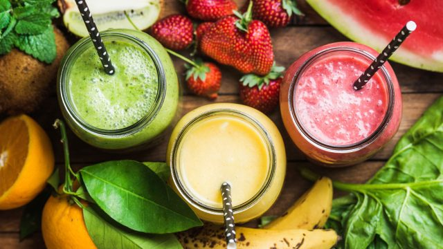 Fruit veggie weight loss smoothies