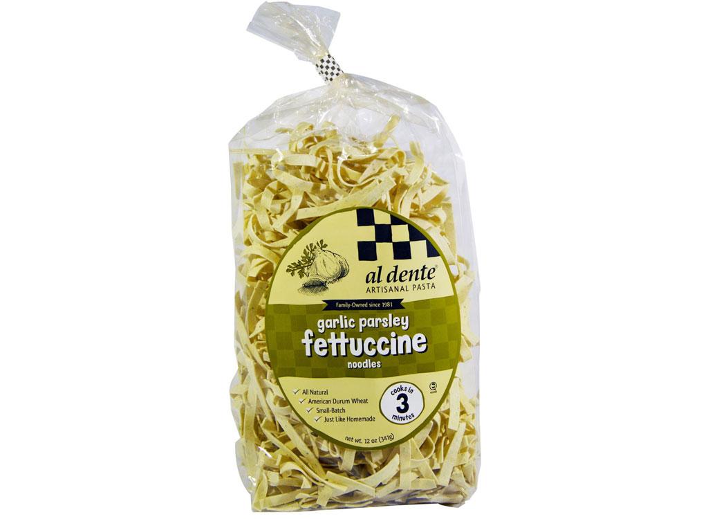 Al Dente Garlic Parsley Fettuccine