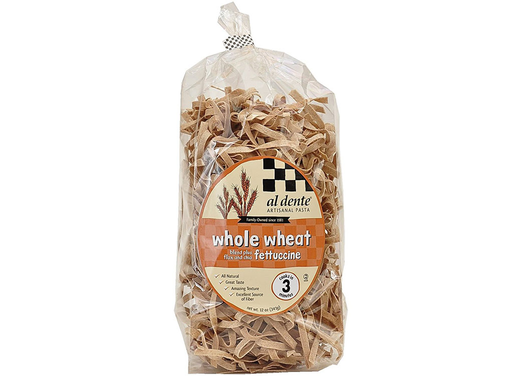 Al Dente Whole Wheat Fettuccine