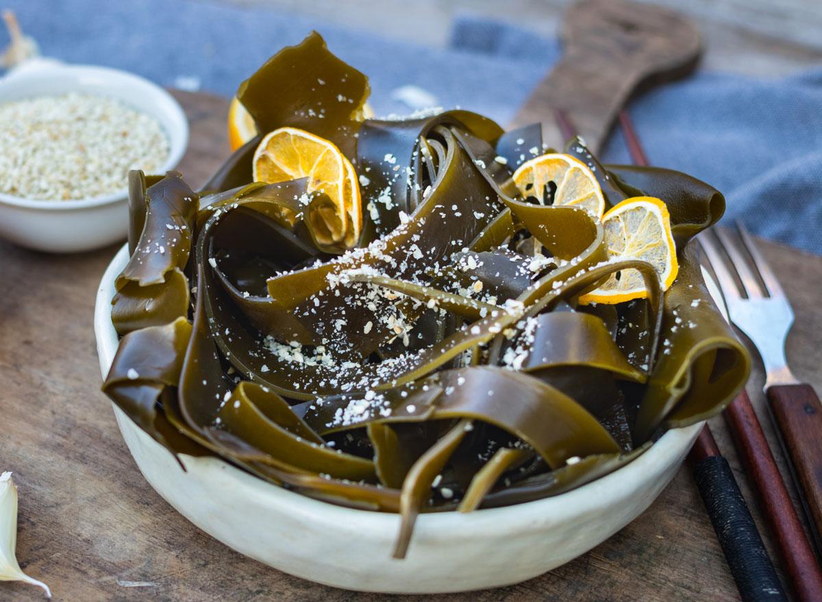 Kelp - calcium rich foods
