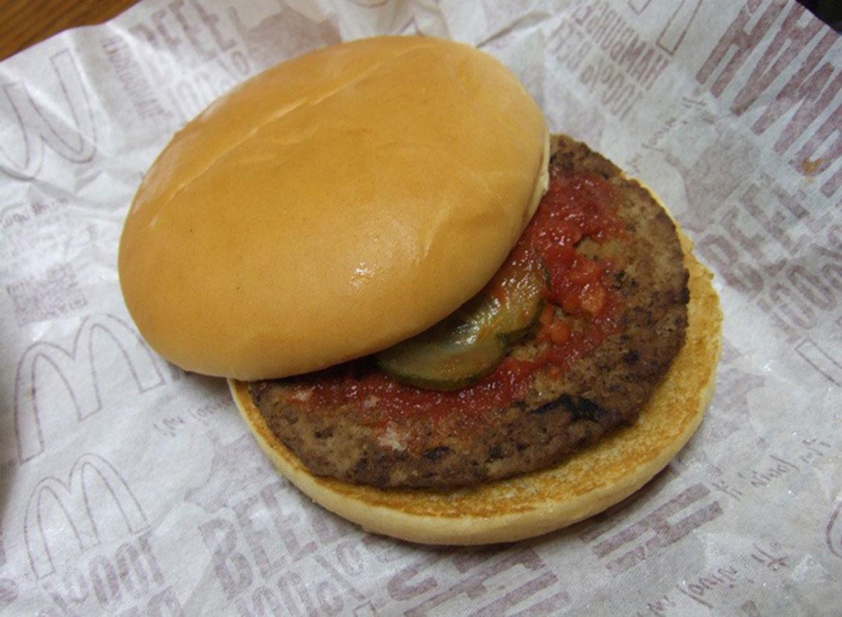 McDonald's All American Burger