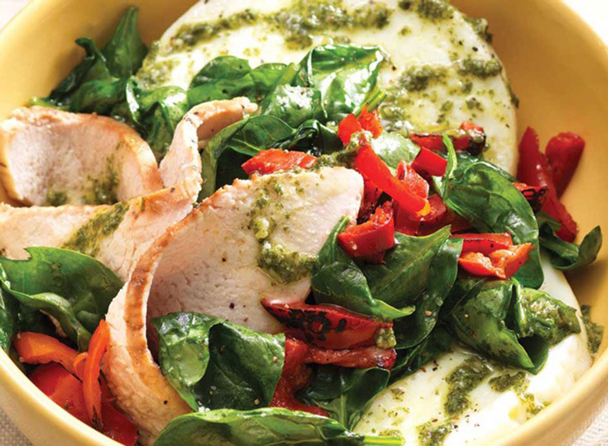 Power breakfast bowl with egg whites and turkey from Panera