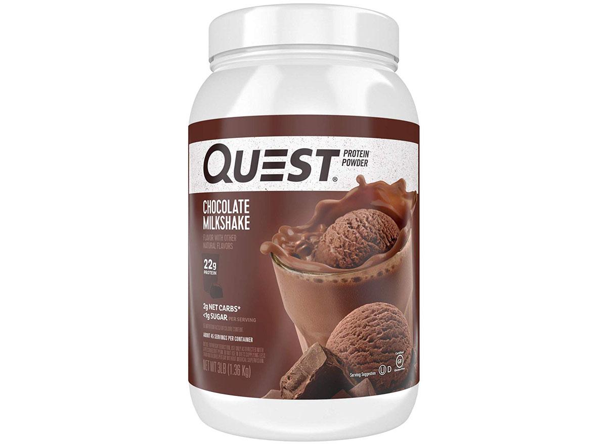 Quest chocolate milkshake protein powder