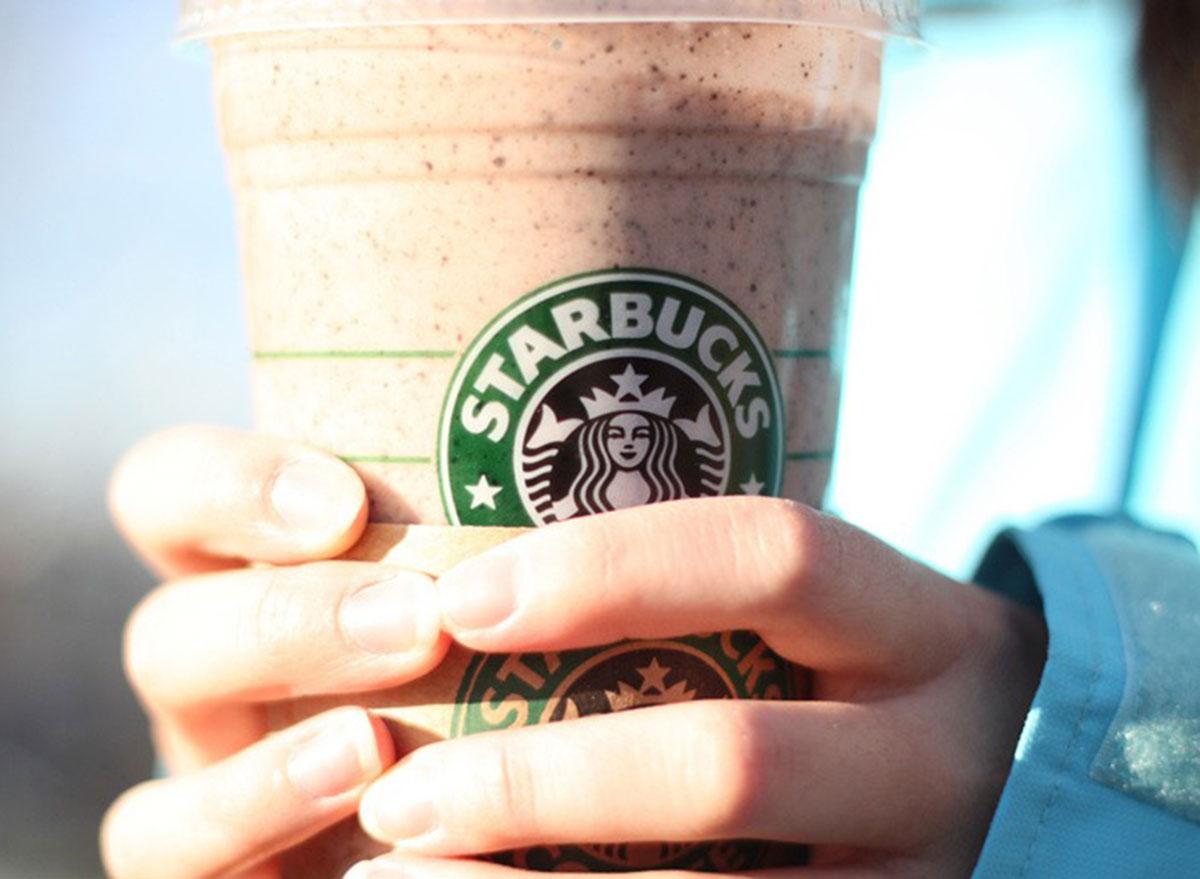 Starbucks banana espresso smoothie
