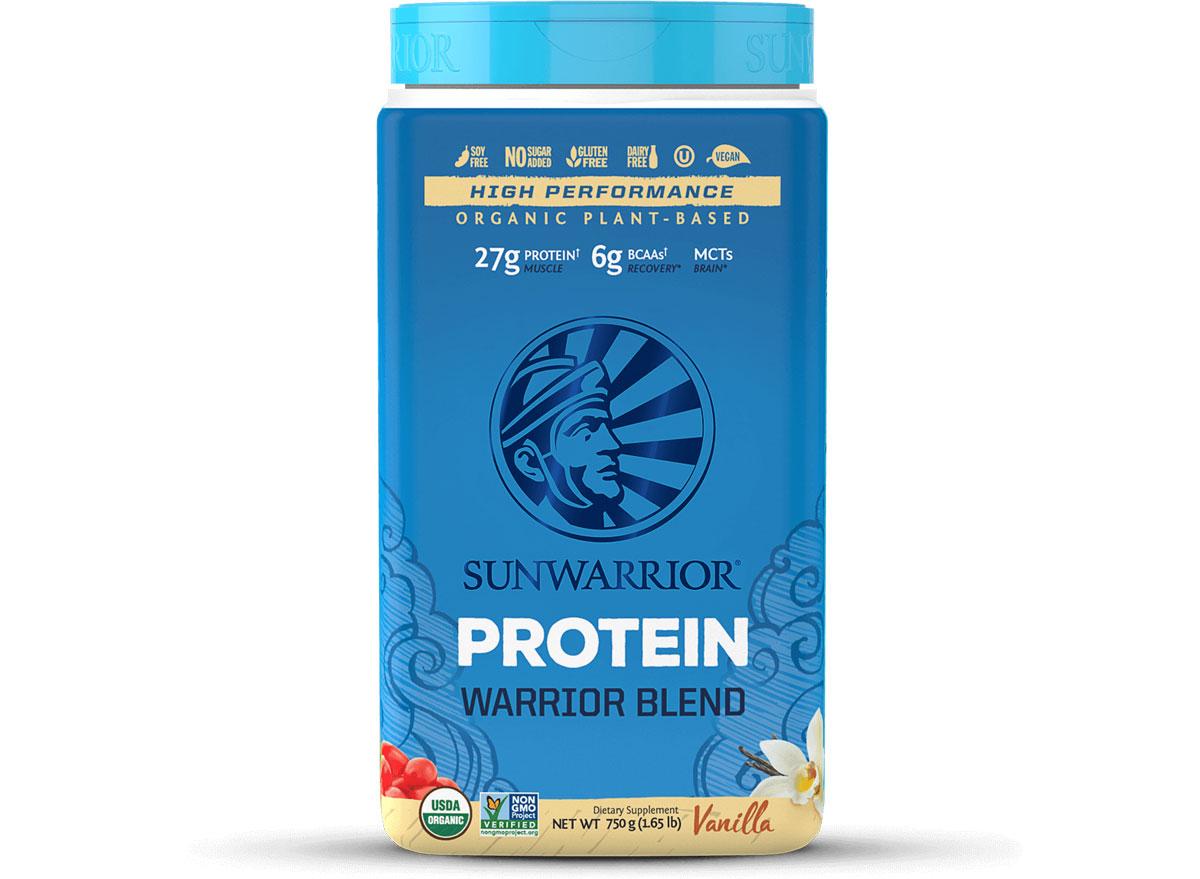 Sunwarrior warrior blend protein powder