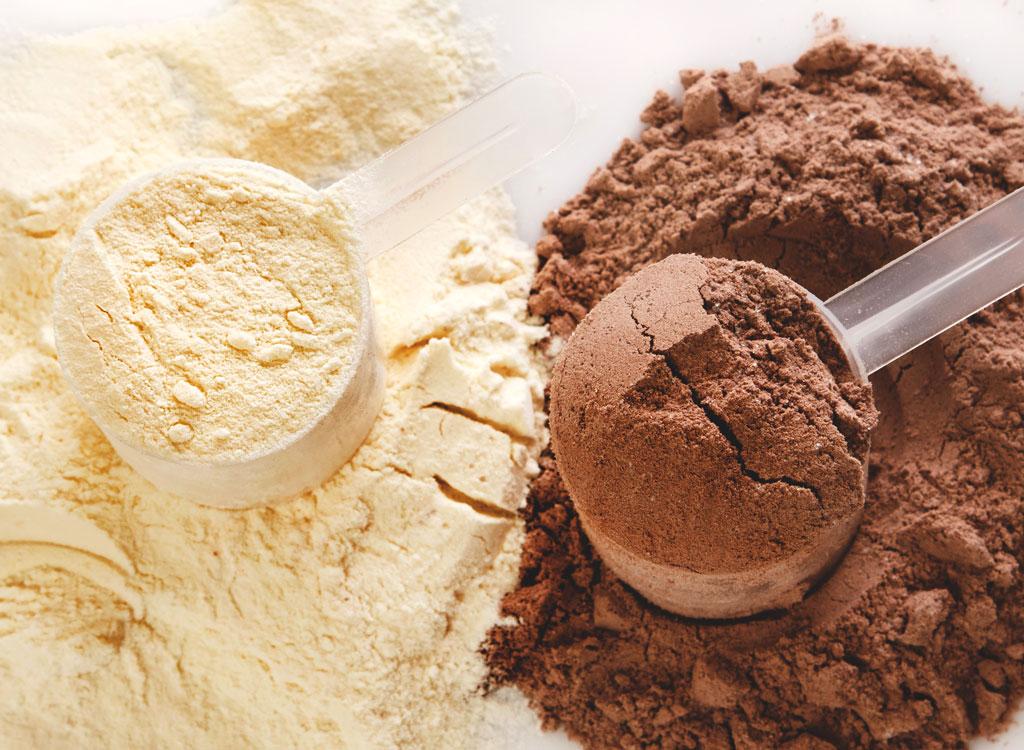 Vanilla chocolate protein powder