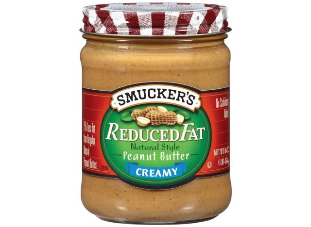 Smuckers reduced fat peanut butter