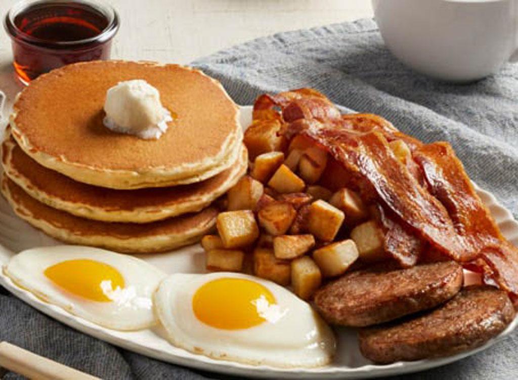 Bob evans double meat farmer breakfast