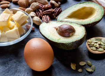 healthy fats avocado nuts seeds egg cheese