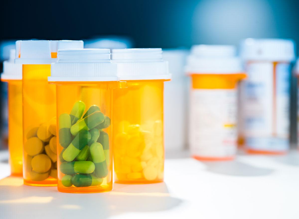 Prescription pill bottle medicine - always hungry reasons