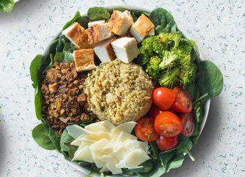 sweetgreen salad in bowl