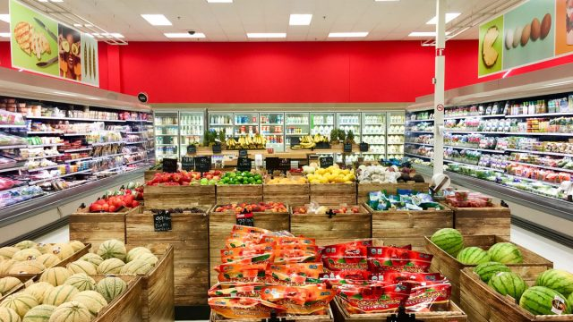 Target grocery store
