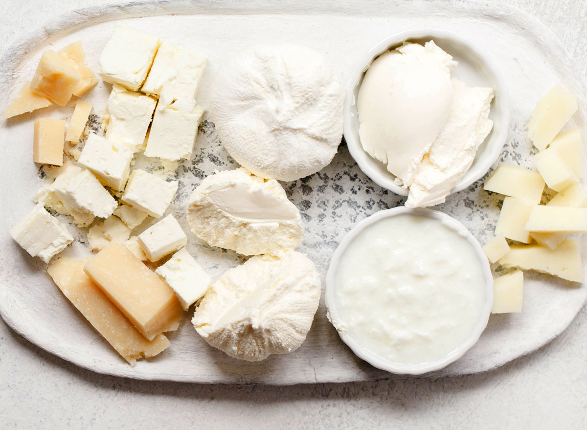 Probiotic soft aged cheeses - best probiotic foods