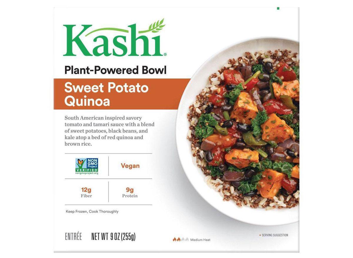 Kashi sweet potato quinoa bowl