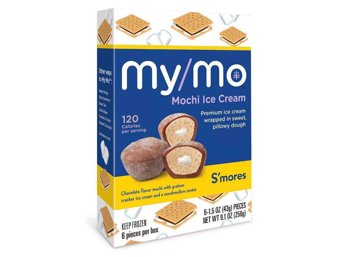 My/Mo Mochi S'mores ice cream bites, low calorie desserts